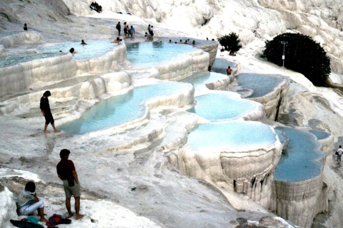 The Weather In Pamukkale In Winter