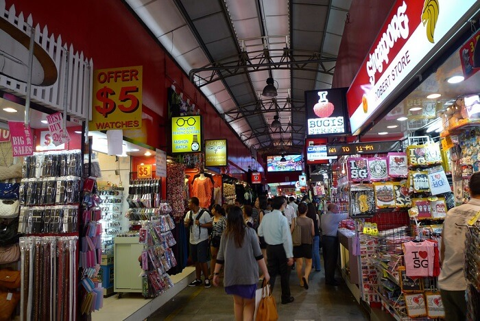 The unbeatable shopping experience in bugis