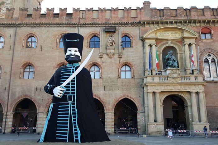 Traditional Celebration Of Bologna