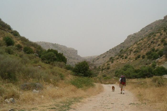 Trekking at Israel National Trail