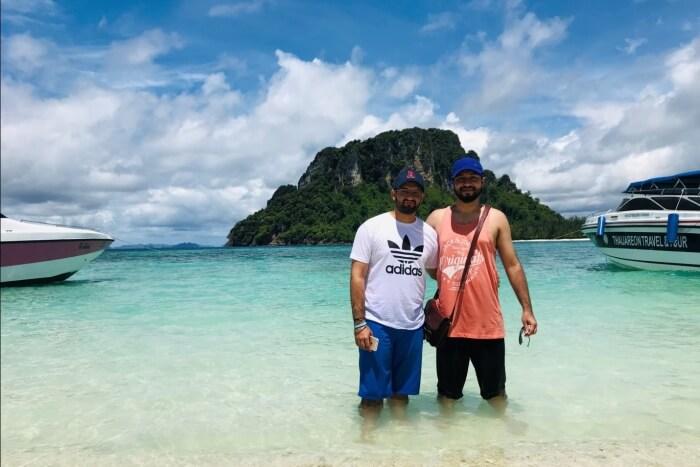 Tup Island beach
