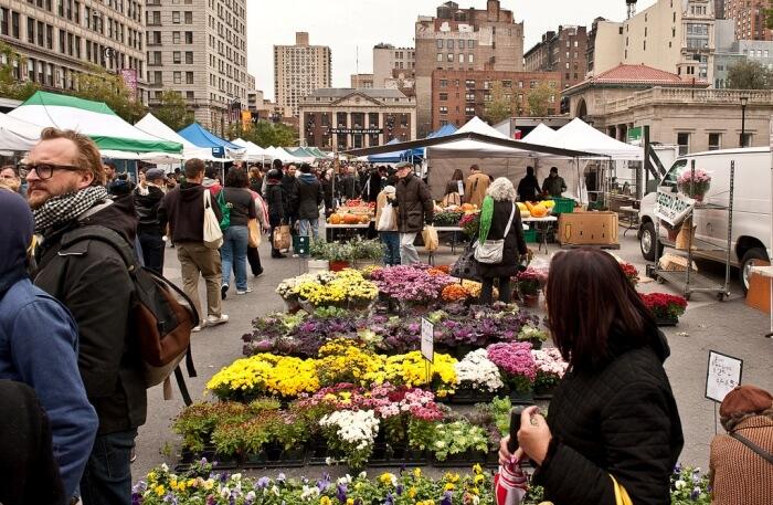 Union Square Greenmarket, New York City