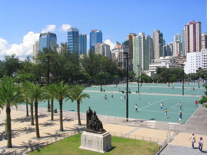 victoria park in HK