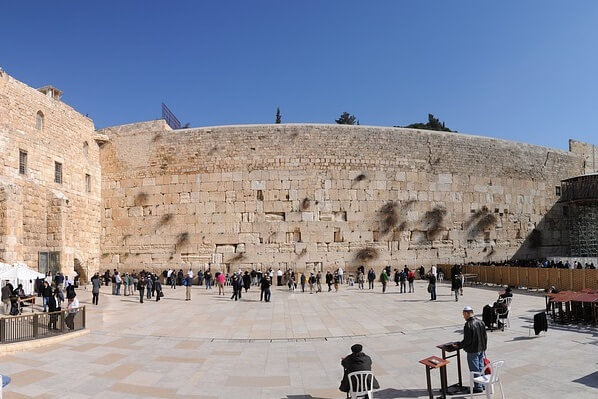 Visit To The Wailing Wall