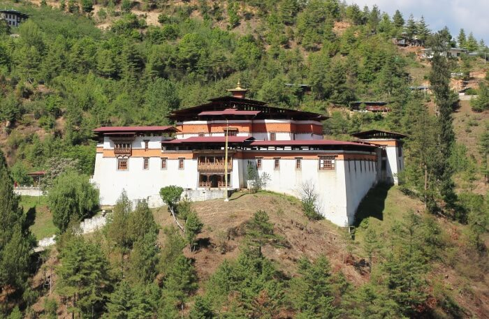 chief protective deity of Bhutan