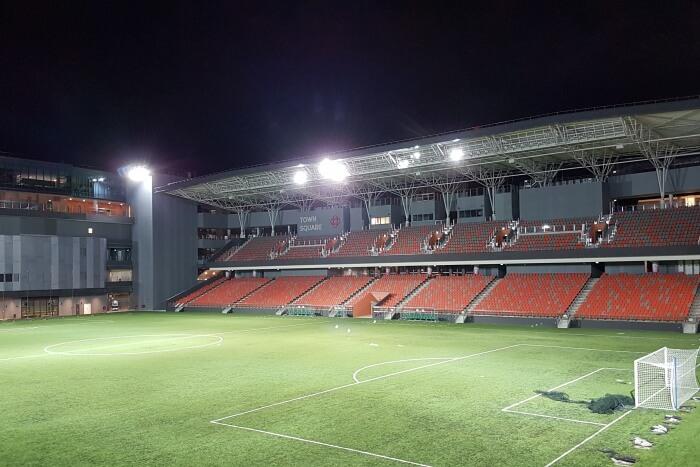 Visit to Popular Football Stadium of Tampines