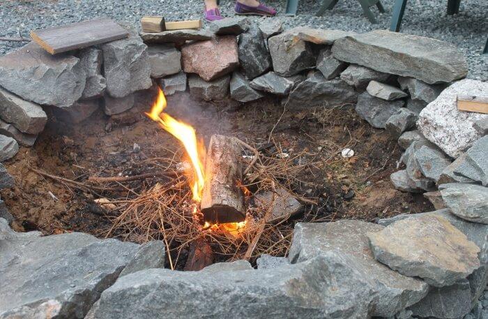 Wadi Rum Camp Fire
