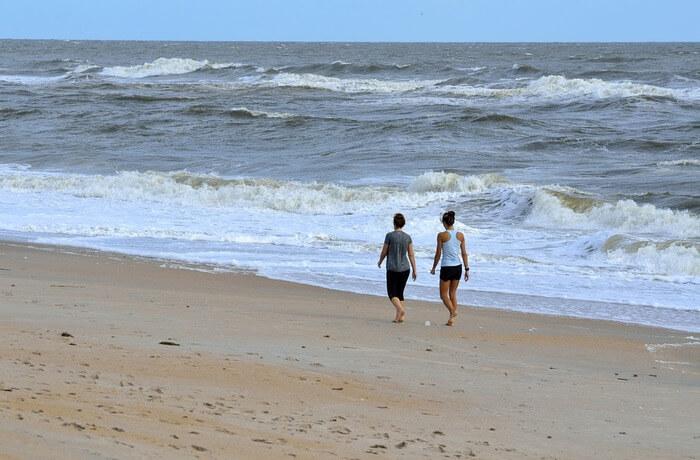 Walks Down The Beach