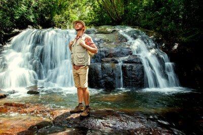 Waterfalls In Ratnapura