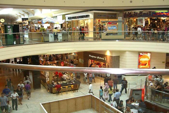 large mall