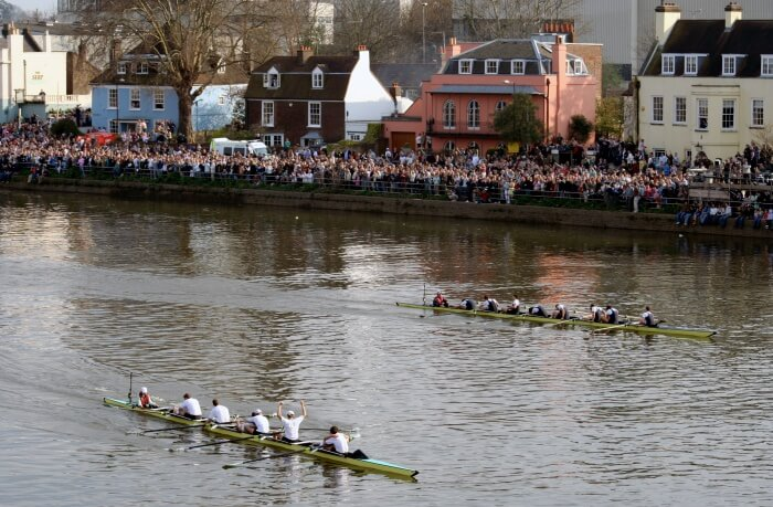 Witness the iconic Boat Race