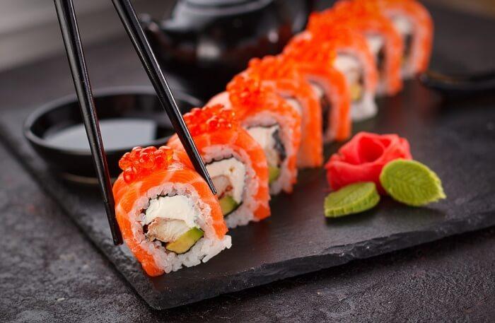 Zen Sushi And Dumpling for the love of Sushi