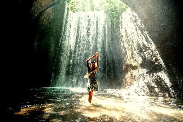 Gorgeous Tukad Cepung Waterfall
