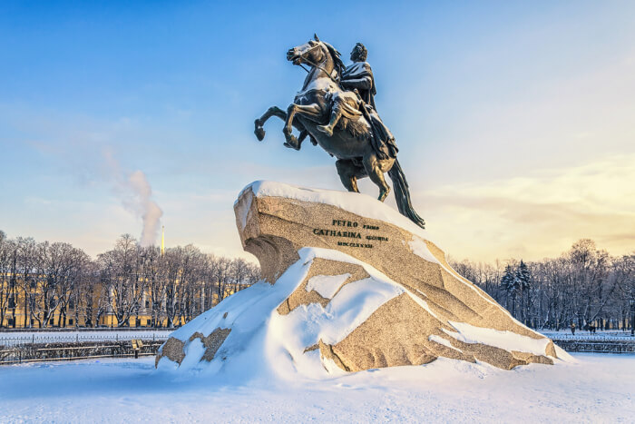 Amazing Winter In Saint Petersburg