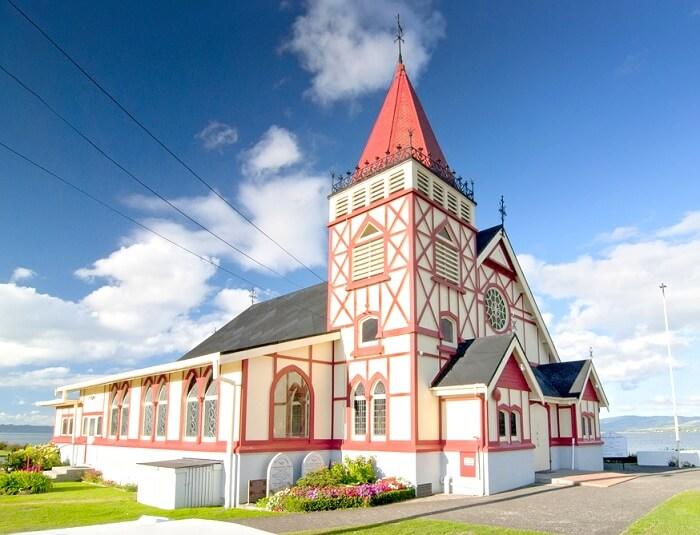 A church in Auckland