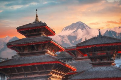 cover - nepal mountains
