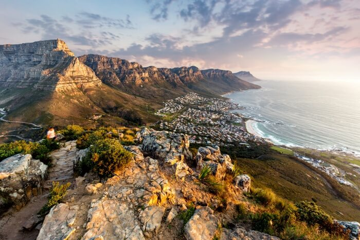 Majestic Mountains In South Africa
