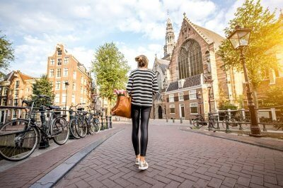 girl in amsterdam