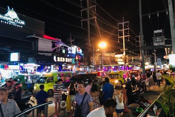 night market view
