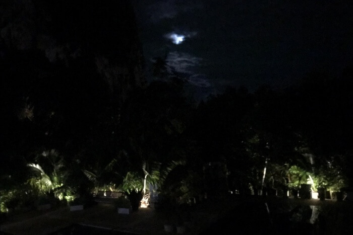 nightview from room balcony