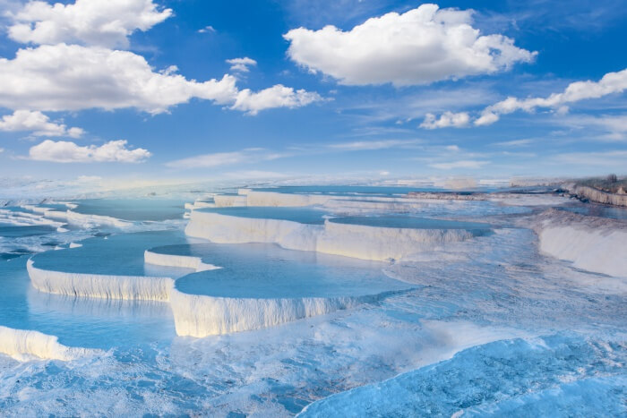 pamukkale in december