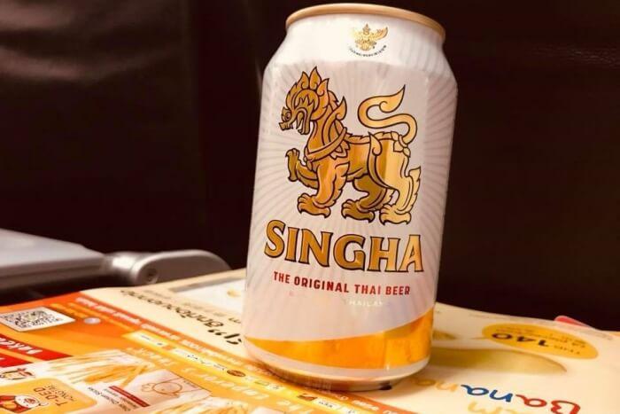 singha beer thai