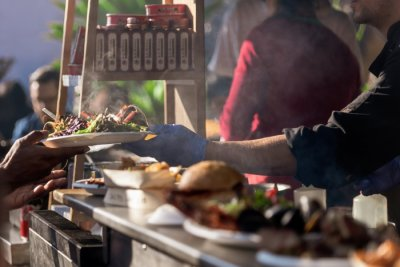 street food in Melbourne