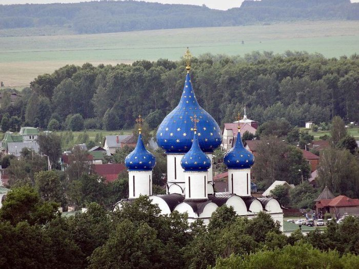 aerial view of suzdal