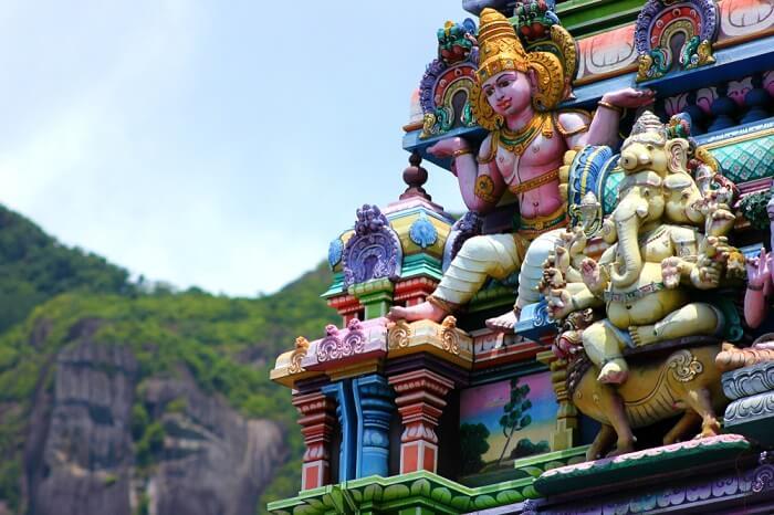 Tempio Hindu cover