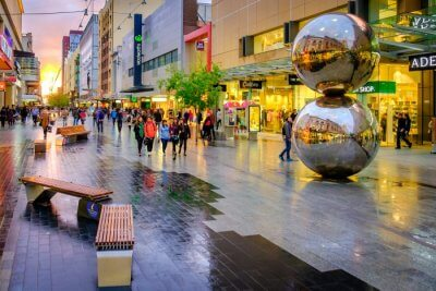 street in Adelaide