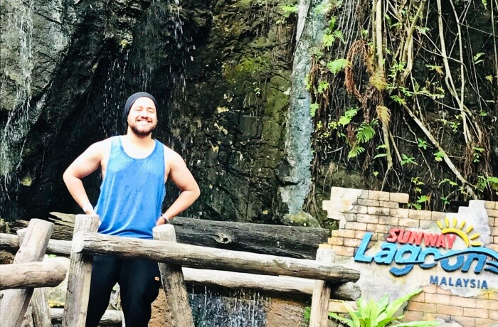 visited Asia's largest waterpark