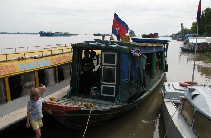 A Trip by boat