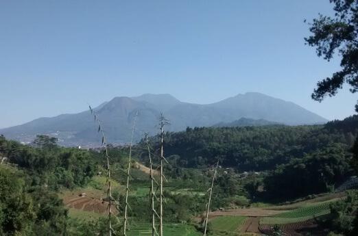 About Mount Kawi