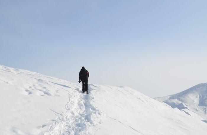 Above Arctic Circle