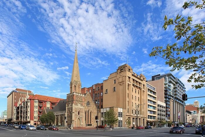 famous building view in Adelaide
