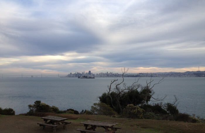 Angel Island in San Francisco