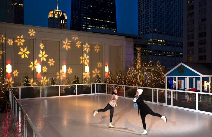 Be smooth at the Sky Rink of Peninsula