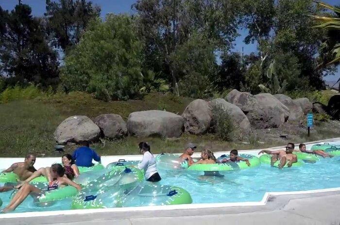 Boomerang Bay Water Park at Great America