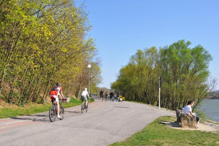 Bratislava Cycling Route