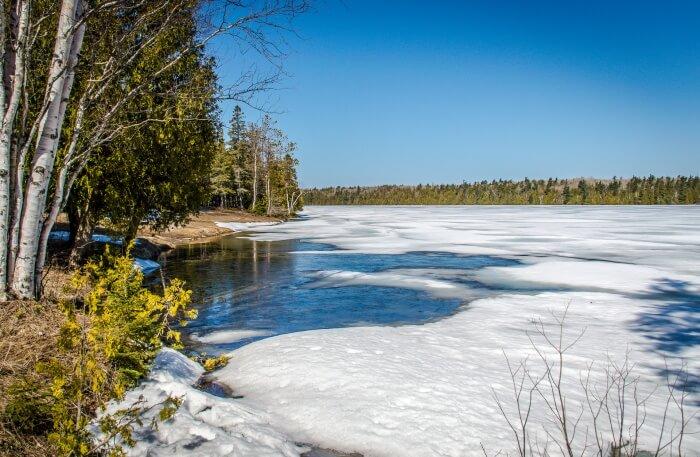 Bruce Trail in Canada