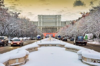Bucharest In Winter