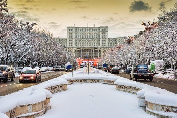 Bucharest In Winter