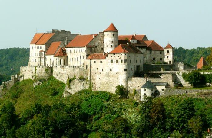 Burghausen Castle View