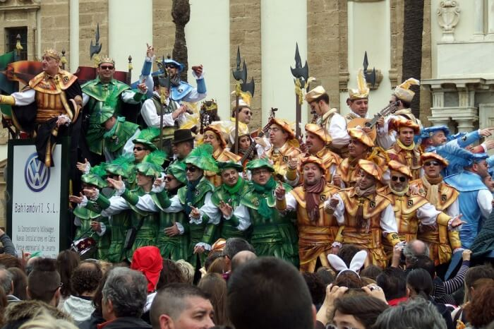 Cadiz Carnival – 8th-18th February