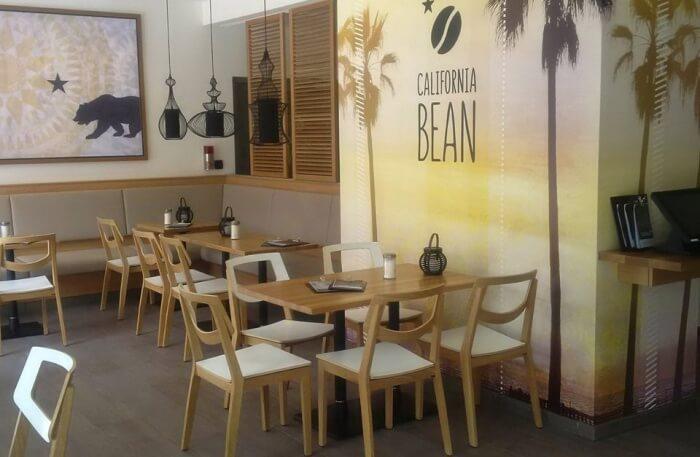 California Bean cafe