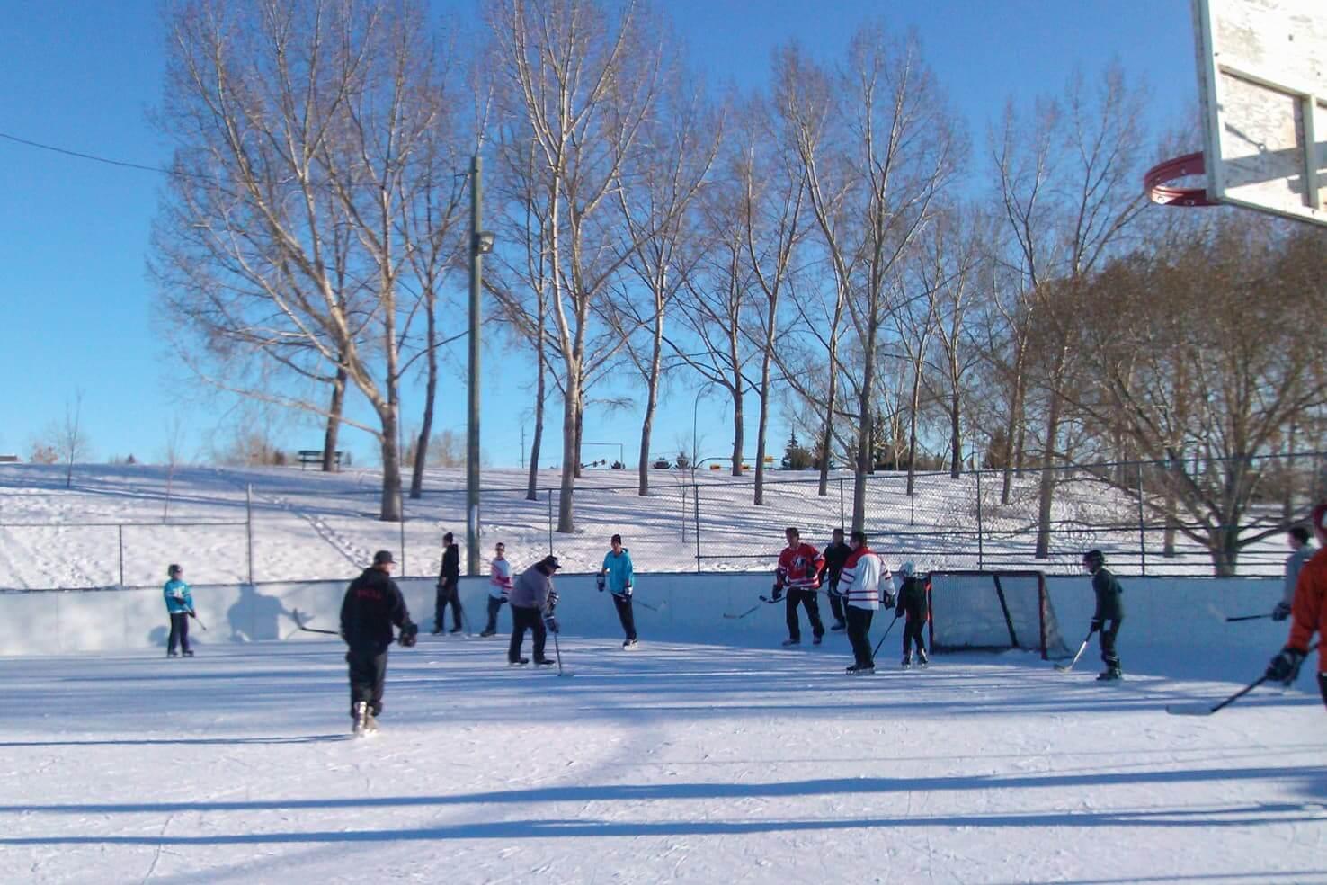 Canadian rockies ice hockey