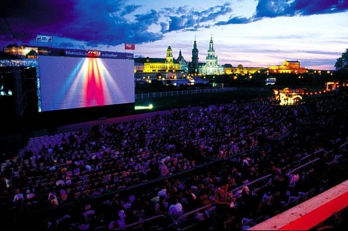 Catch an open-air movie
