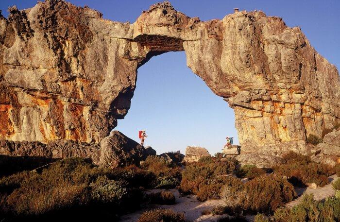 Stylish rock view