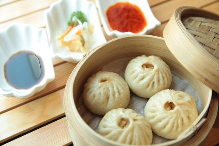 Chinese bao buns
