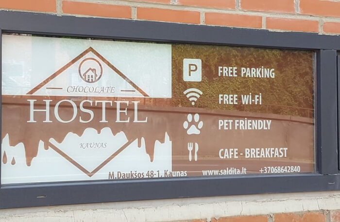 Chocolate Hostel in Lithuania
